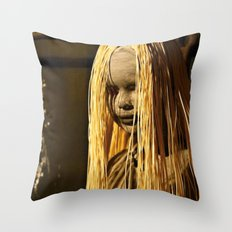 exorcism Throw Pillow