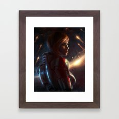 Mass Effect - Commander Shepard Framed Art Print