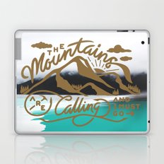 Mountains are calling  Laptop & iPad Skin