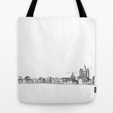 sketchy town Tote Bag
