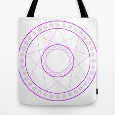 Anime Magic Circle 7 Tote Bag