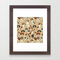 St. Bernards And Newfoun… Framed Art Print