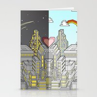 Night & Day Stationery Cards