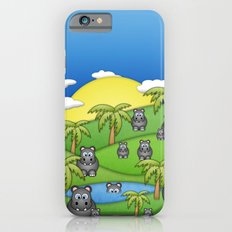 Hippos. Slim Case iPhone 6s