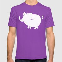 White Elephant  Mens Fitted Tee Ultraviolet SMALL