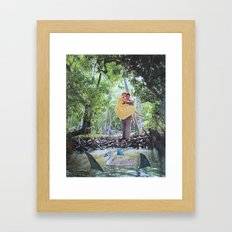 pond Framed Art Print