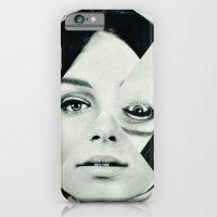iPhone & iPod Case featuring Frau mit Dreieck 2 by Marko Köppe