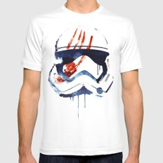 Bloody Memories Mens Fitted Tee White SMALL