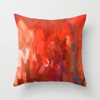 The Walk Of All Nations … Throw Pillow