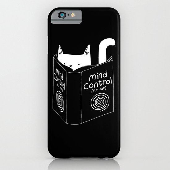 Mind Control 4 Cats iPhone & iPod Case