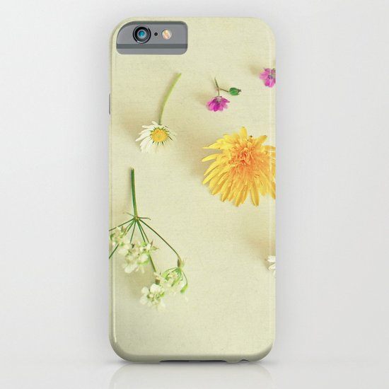 Found Flowers iPhone & iPod Case
