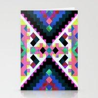 Hana Geometric Stationery Cards