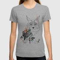 Lynx Womens Fitted Tee Athletic Grey SMALL
