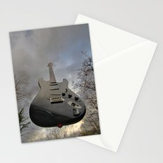Air Guitar Stationery Cards