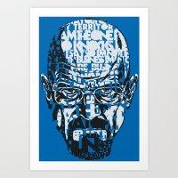 Heisenberg Quotes Art Print