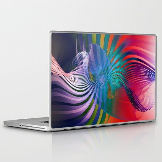 Gently Twisted Laptop & iPad Skin