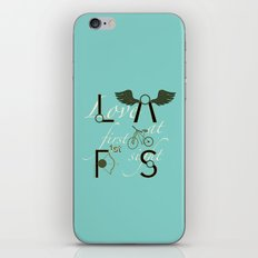 Love at First Sight and Bicycle iPhone & iPod Skin