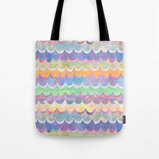 Mia Wave {Orange} Tote Bag