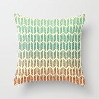 Quill Pattern Throw Pillow