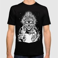 T-shirt featuring INVASION - Black And Whi… by Lokhaan