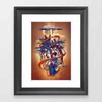 Pine container Framed Art Print