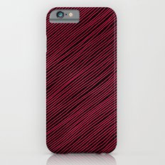 Stripes - Red iPhone 6 Slim Case