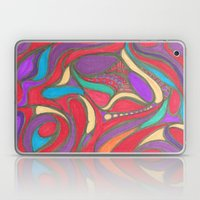 Jewel Tone Flower Laptop & iPad Skin
