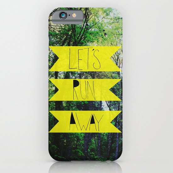 Let's Run Away: Forest Park iPhone & iPod Case