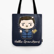 Hello Grandsons Tote Bag