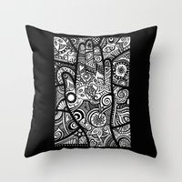 The hand of righteousness Throw Pillow
