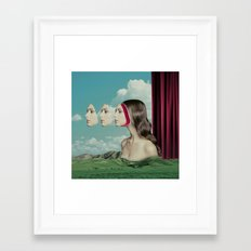 Pageant Contest Framed Art Print