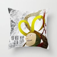 Made to be Ruled : Loki Throw Pillow