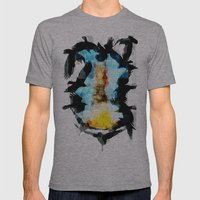 Twelve Crows Mens Fitted Tee Athletic Grey SMALL