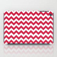 Chevron (Crimson/White) iPad Case