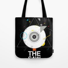 The saw tree Tote Bag