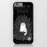 Game of Paws iPhone 6 Slim Case