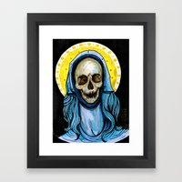 The Reliquary Of Mary Ma… Framed Art Print