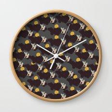 Coyote Song - Wild Spirit Wall Clock
