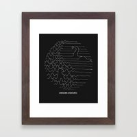 Unknown Creatures Framed Art Print