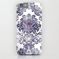 Blueberry Damask iPhone 6 Slim Case