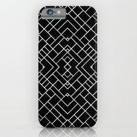 PS Grid 45 Black iPhone 6 Slim Case