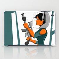 Spacewoman iPad Case