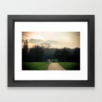 Into The Mystic - London Framed Art Print