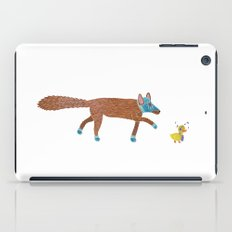 fox and the duck iPad Case