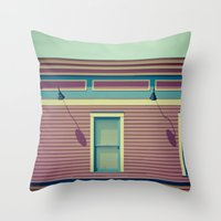 Another  shop on AB Avenue Throw Pillow