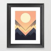 The Sun Rises Framed Art Print