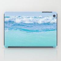 Kapukaulua Pure Blue Surf iPad Case