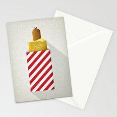 French Hotdog Stationery Cards