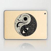 - yin & yang - [collaborative art with famenxt] Laptop & iPad Skin