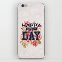 Happy Every Day iPhone & iPod Skin